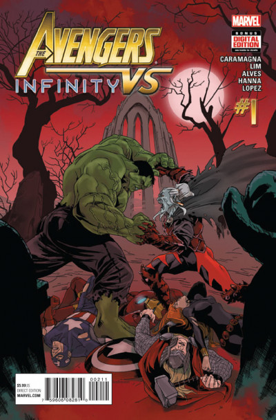 AVENGERS VS INFINITY (2015) #1 VF/NM
