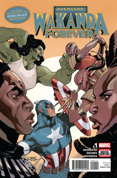Avengers Wakanda Forever (2018) #1 VF/NM (9.0) Chapter 3