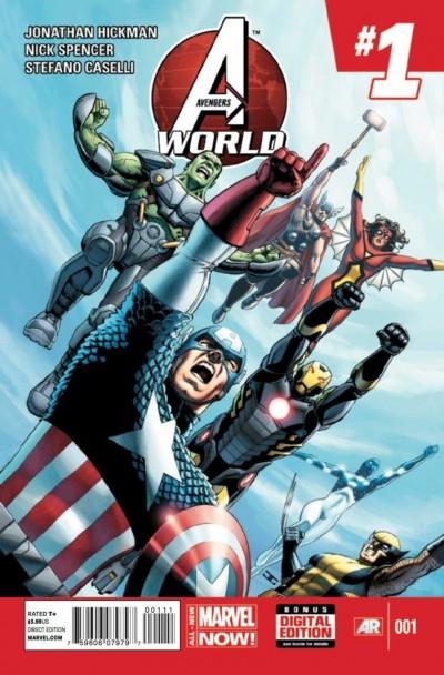 AVENGERS WORLD (2013) #1 VF+ - VF/NM MARVEL NOW!