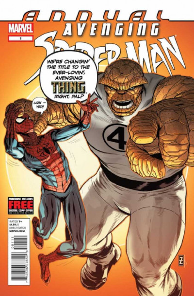 AVENGING SPIDER-MAN ANNUAL (2012) #1 FN/VF THING