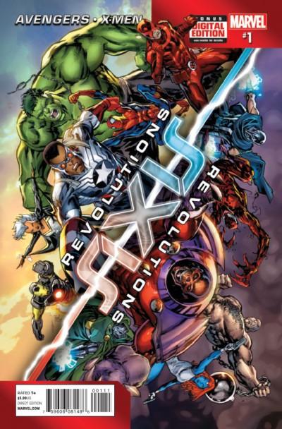 AXIS: REVOLUTIONS (2014) #1 OF 4 VF/NM AVENGERS X-MEN