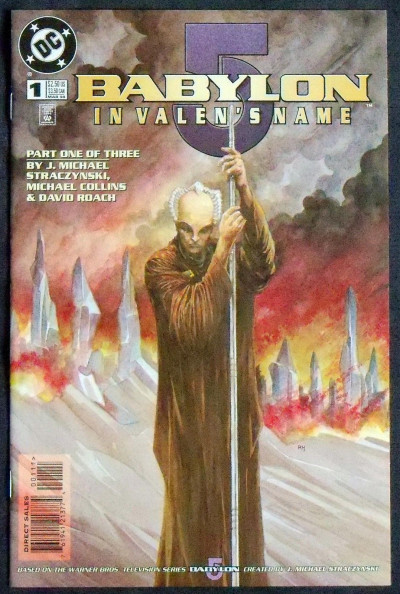 BABYLON 5: IN VALEN'S NAME #1 VF/NM DC COMICS J. MICHAEL STRACZYNSKI