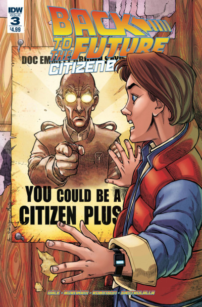 Back to the Future: Citizen Brown (2016) #3 VF/NM IDW