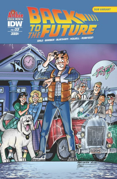 Back to the Future (2016) #3 VF/NM-NM Archie Cover Month Variant Cover