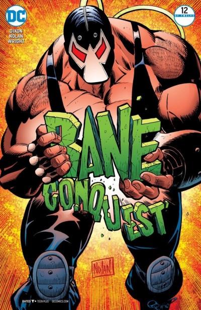 Bane: Conquest (2017) #12 of 12 VF/NM Nolan Cover