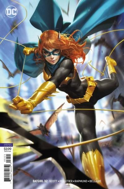 Batgirl (2016) #32 VF/NM-NM Derrick Chew Variant Cover DC Universe