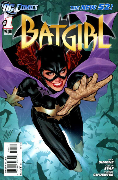 Batgirl (2011) #1 VF/NM-NM Adam Hughes Cover Gail Simone Movie The New 52!