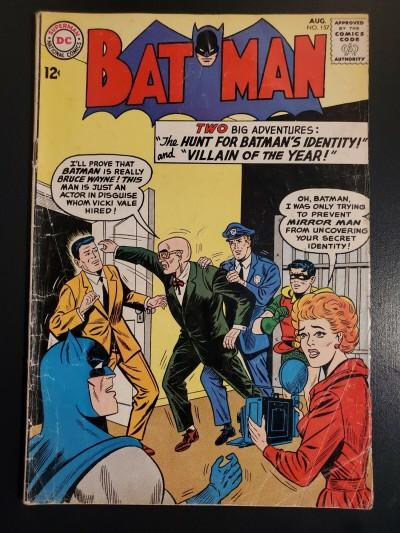 Batman #157 (1963) DC Comics G/VG 3.0 Mirror Man Sheldon Moldoff|