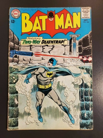 Batman #166 (1964) DC Comics GVG 3.0 Infantino Sheldon Moldoff|