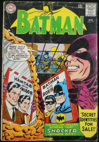 BATMAN #173 GD/VG