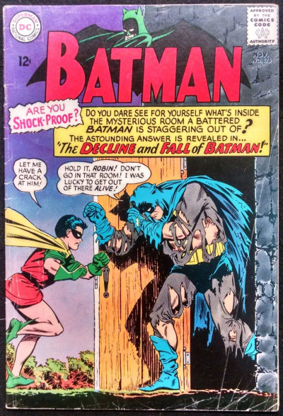 BATMAN #175 VG- ROBIN