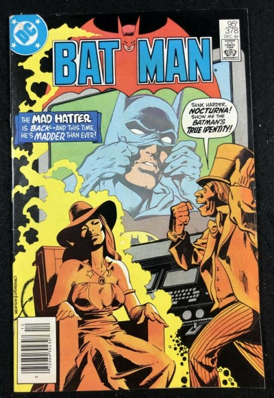 Batman (1940) #378 VF+ (8.5) 95 cent Canadian variant