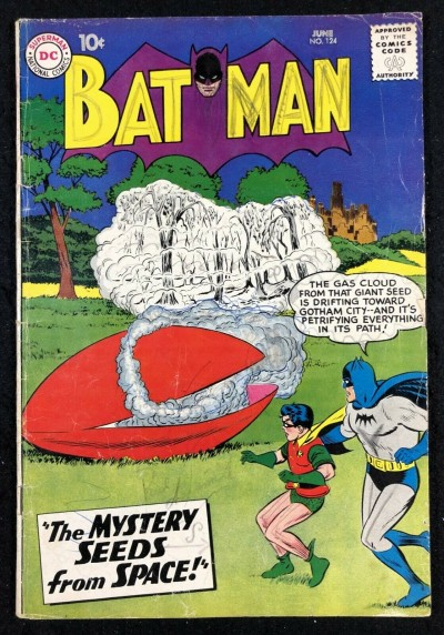 Batman (1940) #124 GD/VG (3.0) with Robin