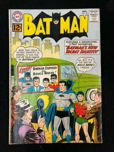 Batman (1940) #151 VG/FN (5.0)