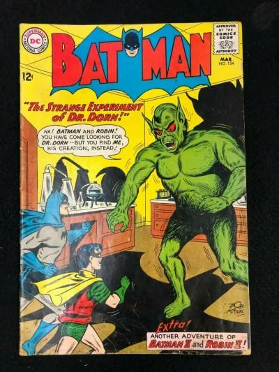 Batman (1940) #154 VG- (3.5)