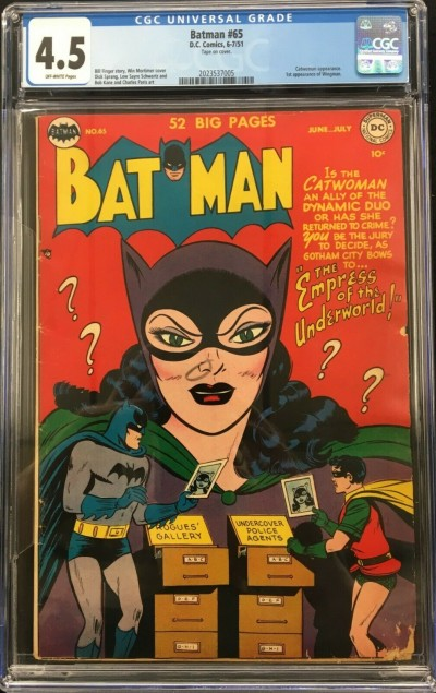 Batman (1940) #65 CGC 4.5 off-white pages Catwoman cover & app (2023537005)