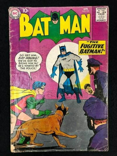 Batman (1940) #123 GD- (1.8) Joker Story