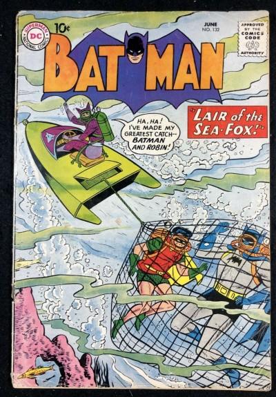 Batman (1940) #132 VG- (3.5)