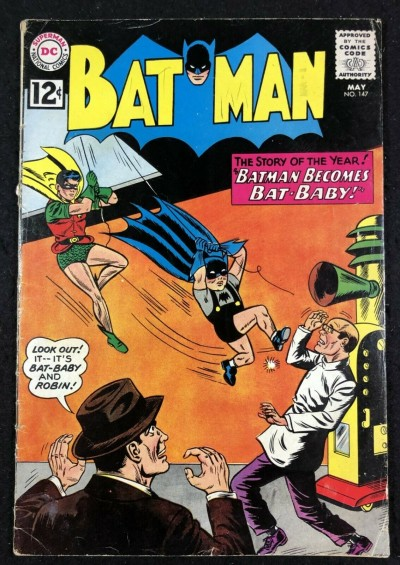 Batman (1940) #147 VG- (3.5) and Robin