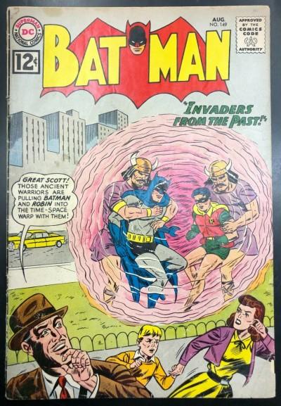 Batman (1940) #149 GD- (1.8) and Robin