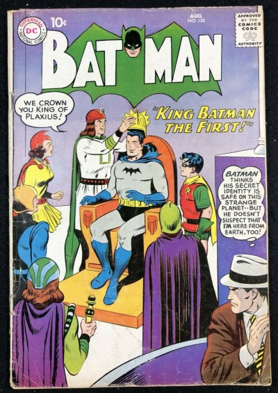 Batman (1940) #125 GD/VG (3.0)