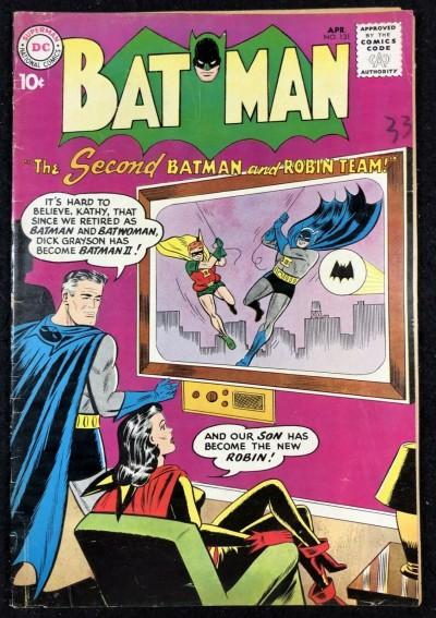 Batman (1940) #131 VG/FN (5.0) with Robin Batwoman cover