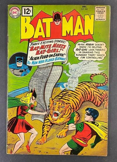 Batman (1940) #144 VG/FN (5.0) Bat-Mite Kathy Kane Bill Finger Sheldon Moldoff