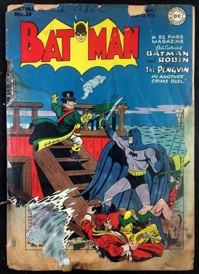 Batman (1940) #43 PR (.05) with Robin Penguin cover reader copy