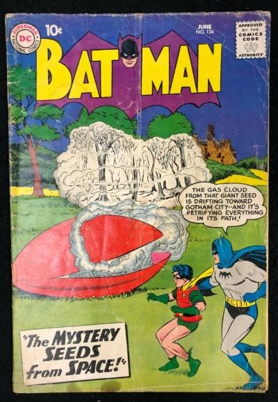 Batman (1940) #124 GD (2.0)