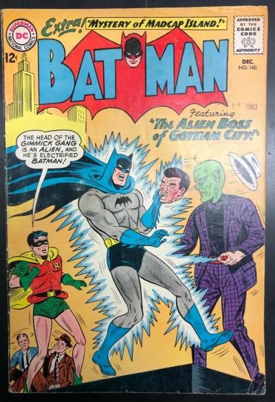 Batman (1940) #160 VG/FN (5.0) and Robin