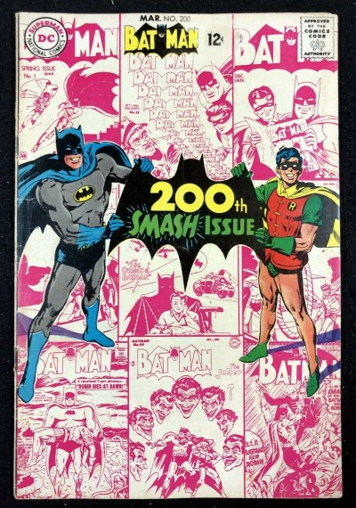 Batman (1940) #200 FN- (5.5) and Robin Neal Adams cover