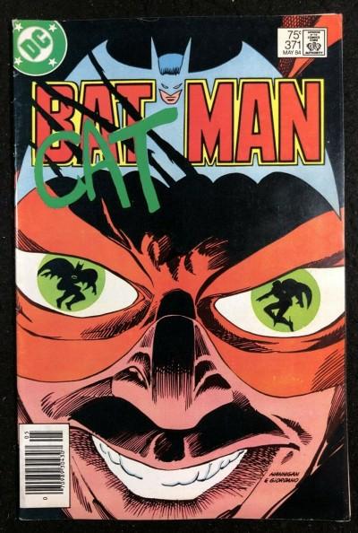 Batman (1940) #371 FN+ (6.5) Catman Cover