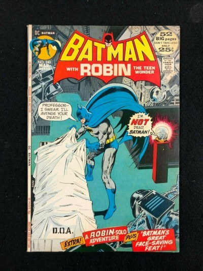 Batman (1940) #240 FN+ (6.5) Doctor Moon