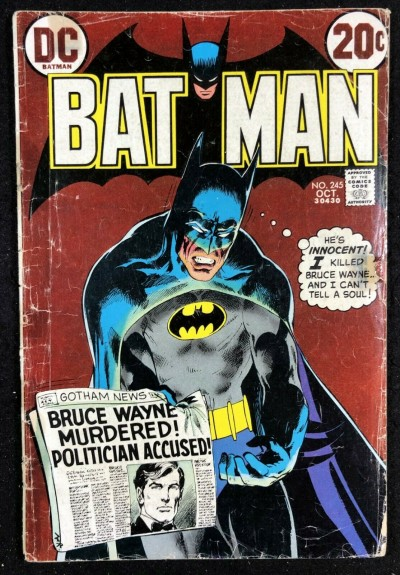 Batman (1940) #245 GD (2.0) Neal Adams Cover & Story