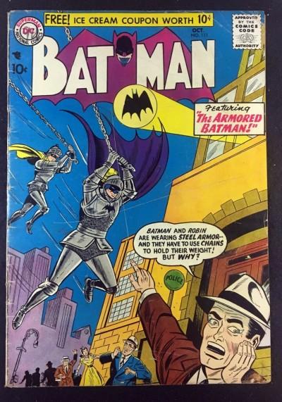 Batman (1940) #111 GD/VG (3.0) with Robin