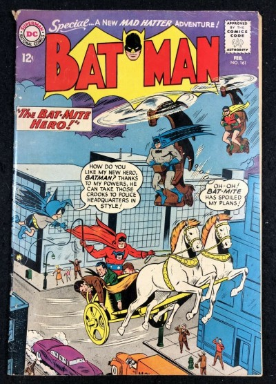 Batman (1940) #161 GD/VG (3.0) and Robin