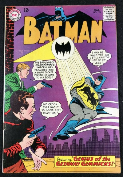 Batman (1940) #170 FN/VF (7.0)