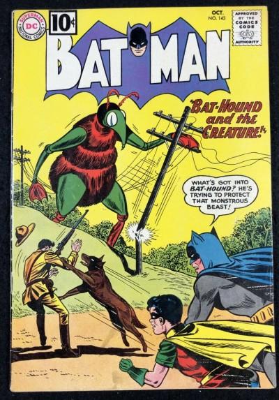 Batman (1940) #143 FN (6.0) and Robin