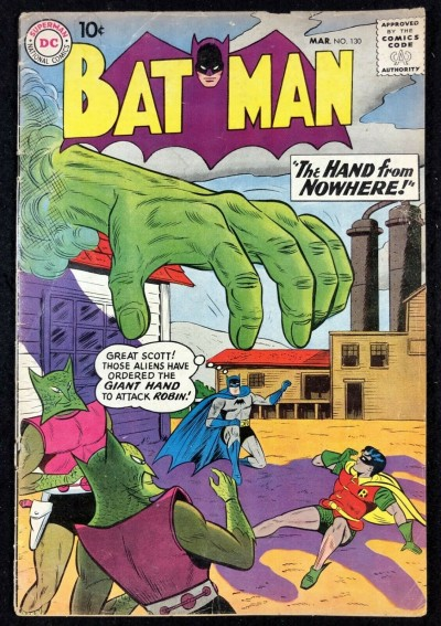 Batman (1940) #130 GD/VG (3.0) with Robin