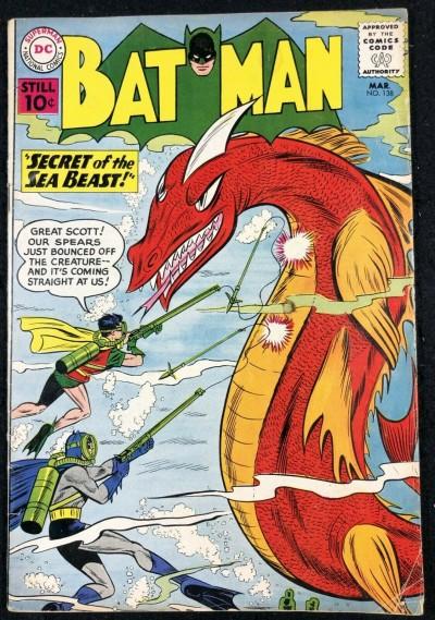Batman (1940) #138 VG/FN (5.0) and Robin