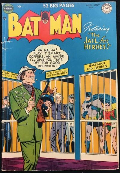 Batman (1940) #71 VG (4.0)