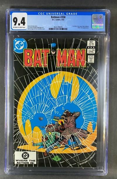 Batman (1940) #358 CGC 9.4 Graded 1st Killer Croc Cover/App (3824796005)