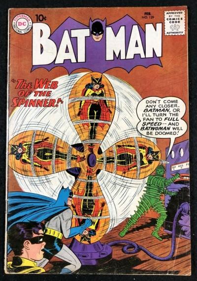 Batman (1940) #129 VG/FN (5.0) with Robin Batwoman cover