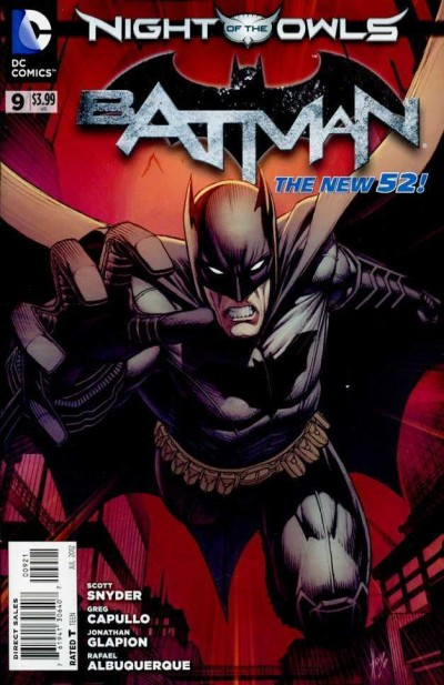 Batman (2011) #9 VF/NM-NM Dale Keown Variant Cover The New 52!