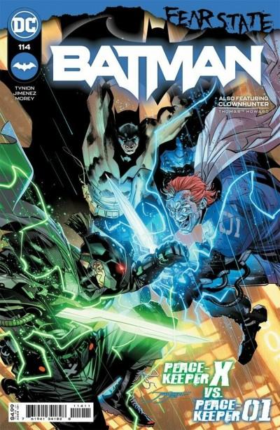 "Batman (2016) #114 VF/NM Jorge Jimenez Cover ""Fear State"""