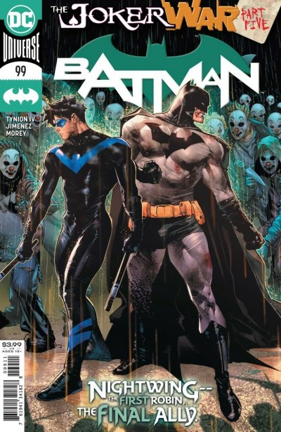 Batman (2016) #99 VF/NM Jorge Jimenez Cover The Joker War Part Five