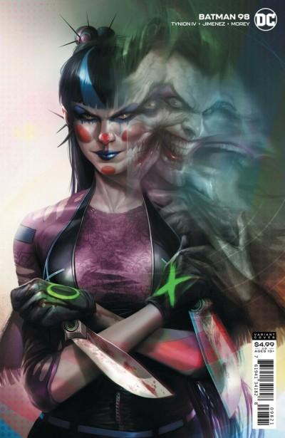 Batman (2016) #98 VF/NM Francesco Mattina Joker Punchline Variant Cover