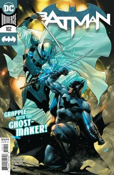 Batman (2016) #102 VF/NM Jorge Jimenez 1st Appearance Ghost-Maker