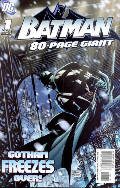 Batman 80-Page Giant (2010) #1 VF/NM Andy Kubert Cover