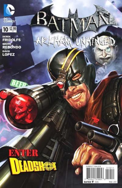 Batman: Arkham Unhinged  (2012) #10 VF-